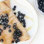 Easy Whole Wheat Honey Crepes