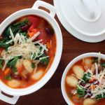 Minestrone with Gnocchi