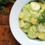 German Cucumber Salad With Pineapple – Gurkensalat